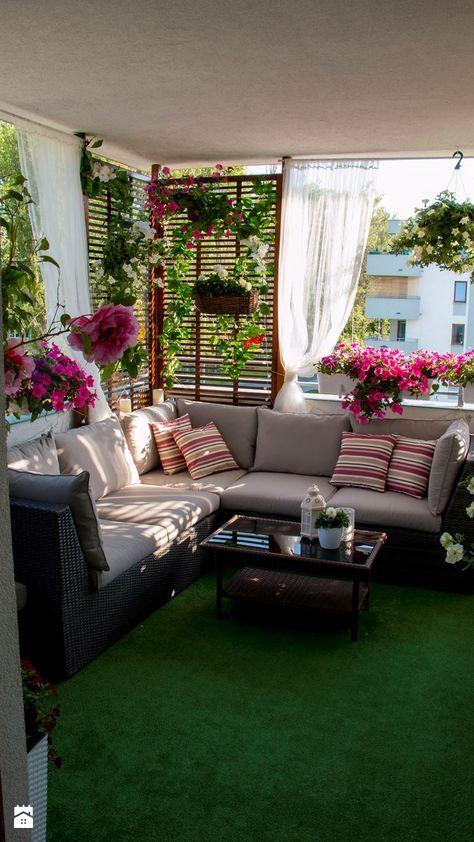 Unique Outdoor Balcony Design Ideas