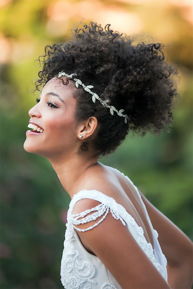 42 Black Women Wedding Hairstyles That Full Of Style Wedding Forward Wedding Hairstyles Bride Black Wedding Hairstyles Natural Hair Bride