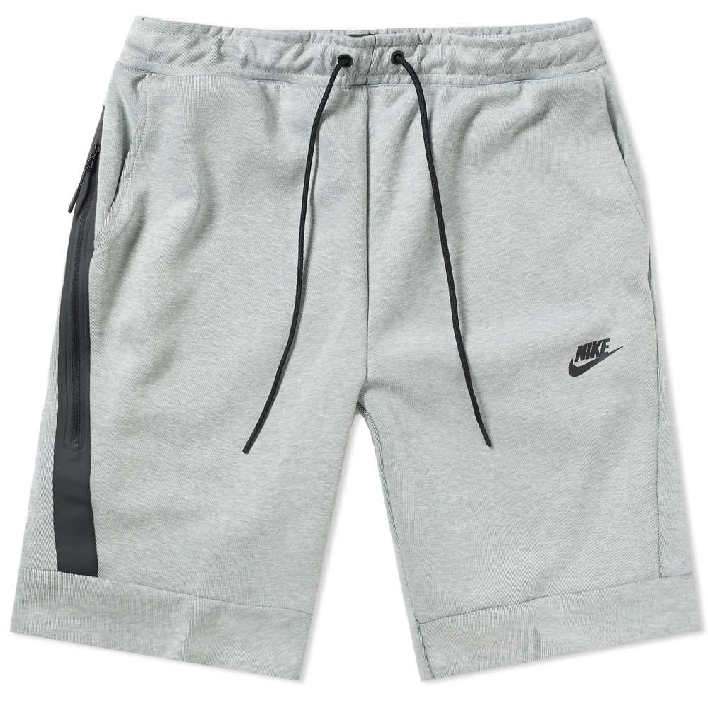 Nike Tech Fleece Short In Grey | ModeSens | Nike tech fleece ...
