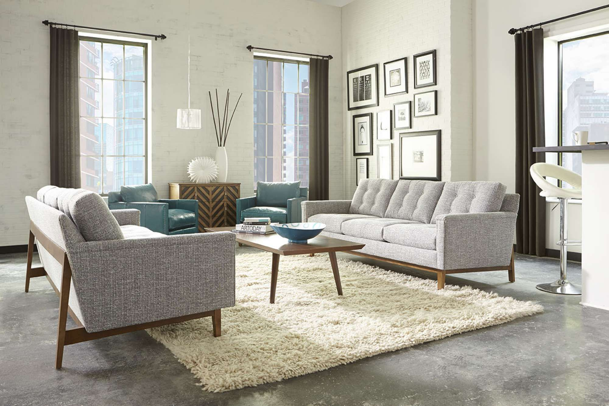 The Ethan Couch | Rowe Furniture