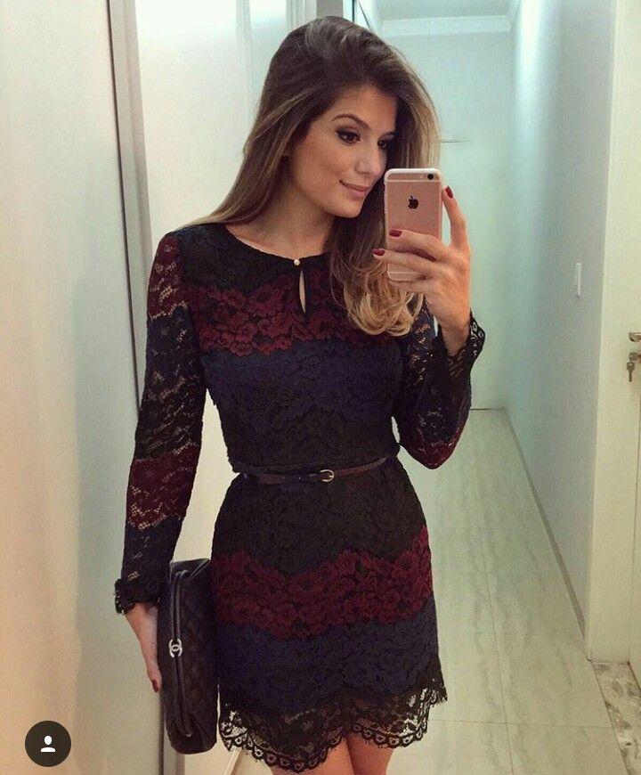 Cocktail Dress Selfie