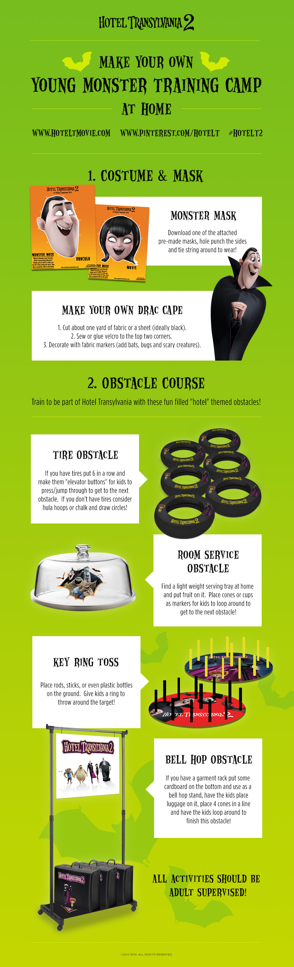 Check out this fun Young Monster Training Camp activity graphic courtesy of #HotelT2