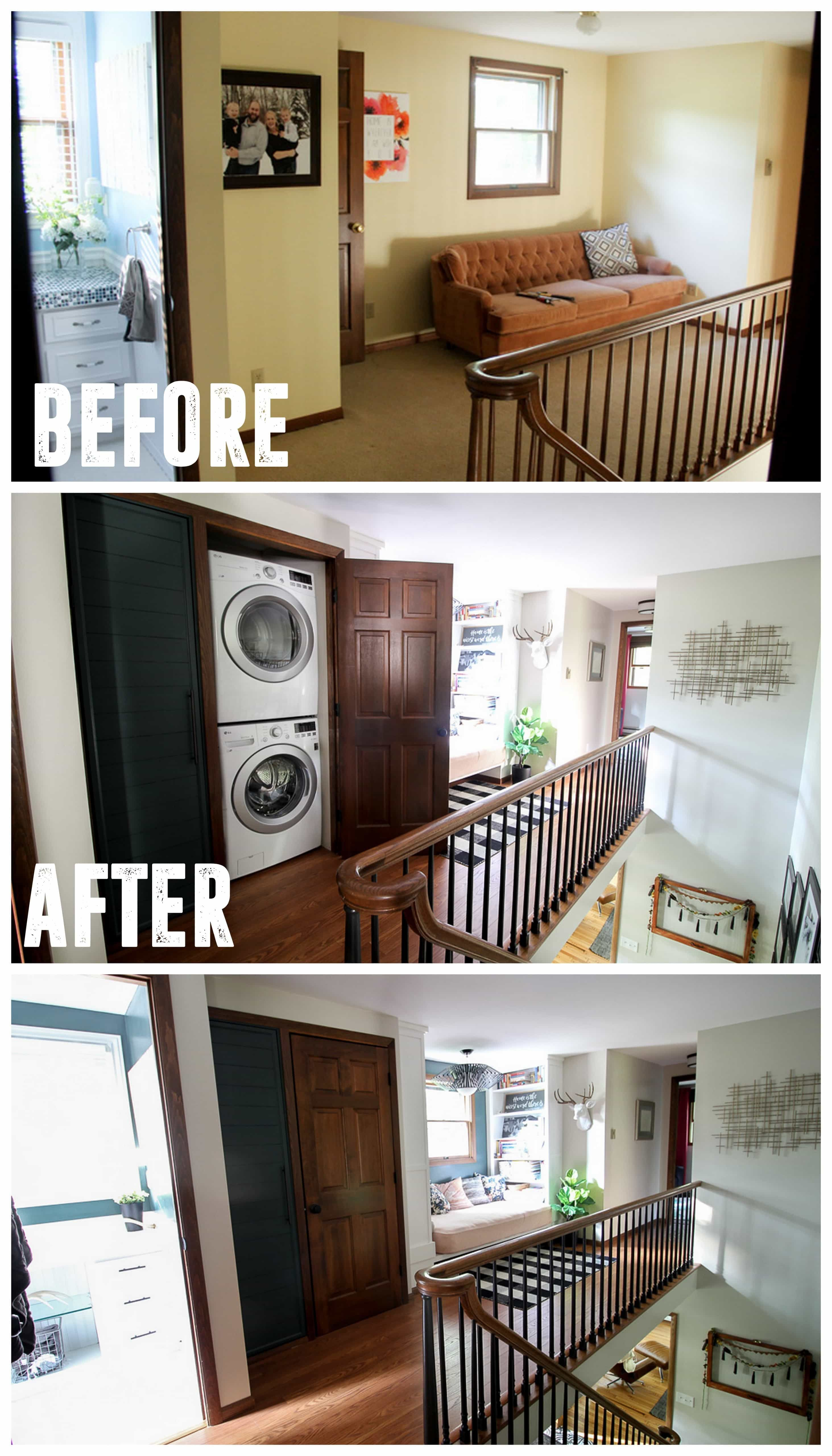 How We Built A Small Laundry Room In A Closet Laundry Room Storage Laundry Room Storage Shelves Small Laundry Room Organization