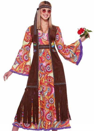 Vestido hippie anos 70 em 2019 look anos 70 moda anos - Moda hippie anos 70 ...