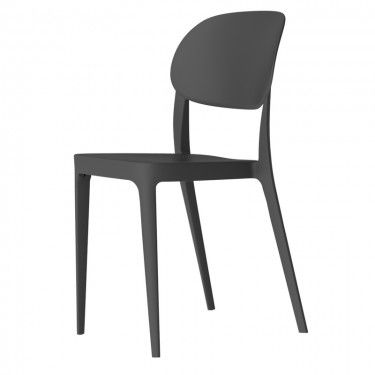 Beaufurn   Amy Outdoor Stacking Side Chair