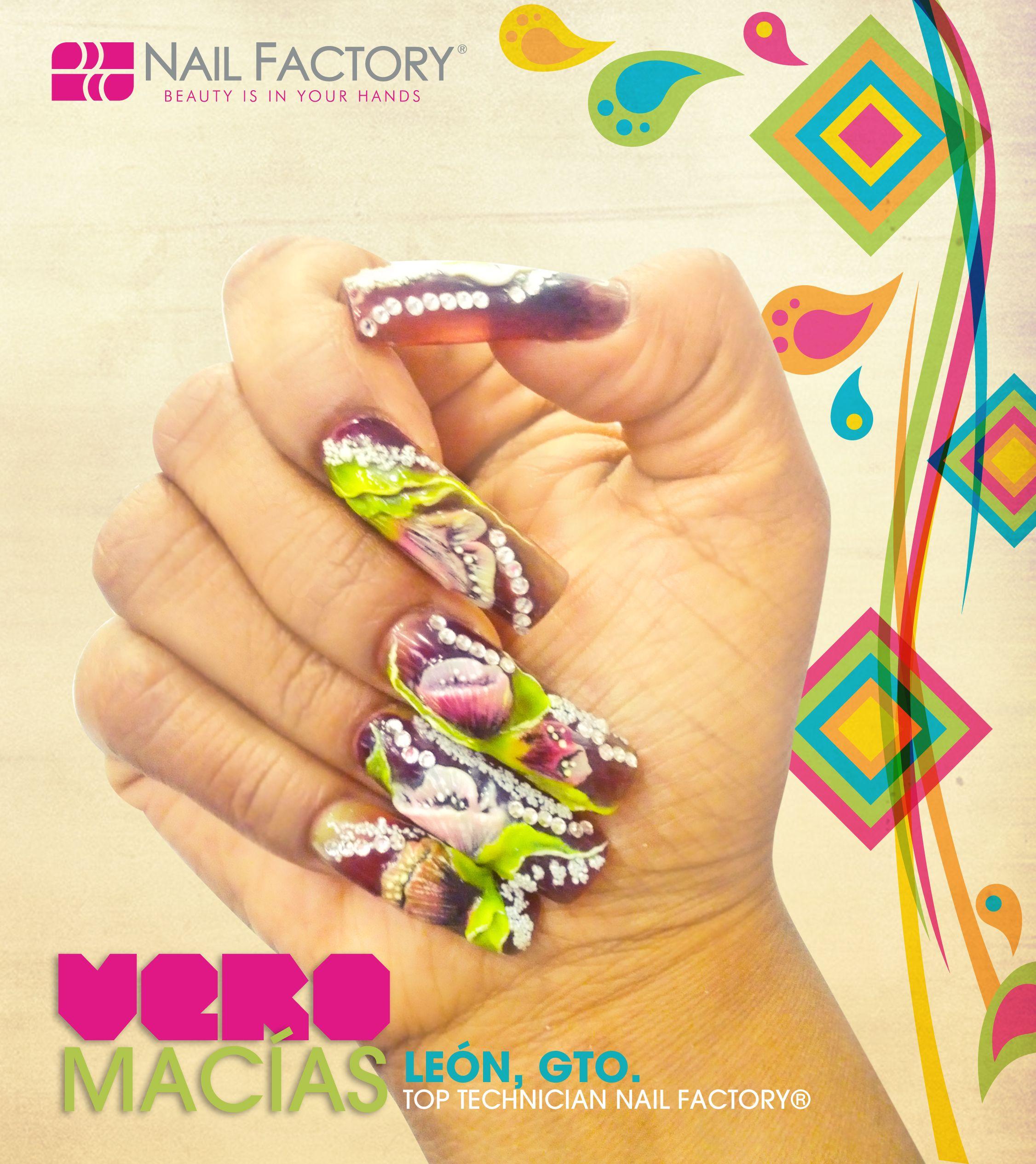 #Veromacias #Lovenailfactory #Vivamexico