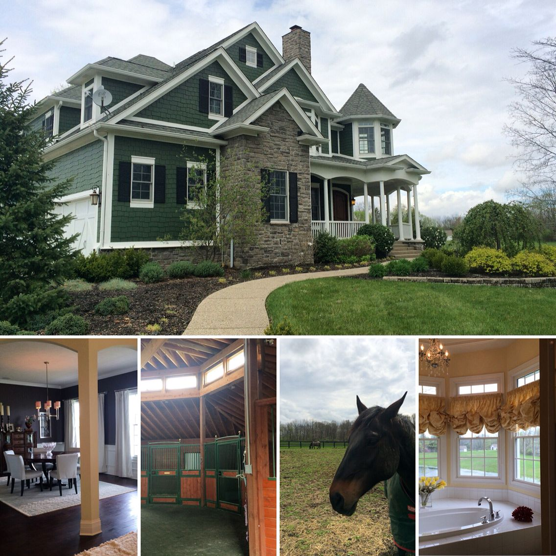 Beautiful Home And Horse Farm In Zionsville Happy To Set Up A Private Showing If You Are Interested In This Home 317 Beautiful Homes House Styles Mansions