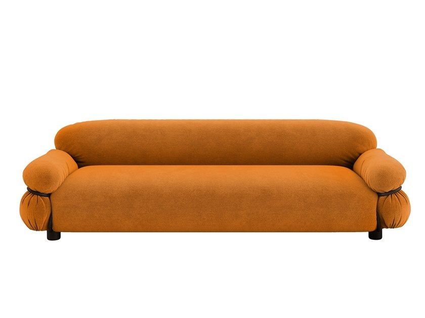 Download The Catalogue And Request Prices Of Sesann Fabric Sofa By Tacchini 3 Seater Fabric Sofa Design Gianfranco Fratt In 2020 Sofa Fabric Sofa Fabric Sofa Design