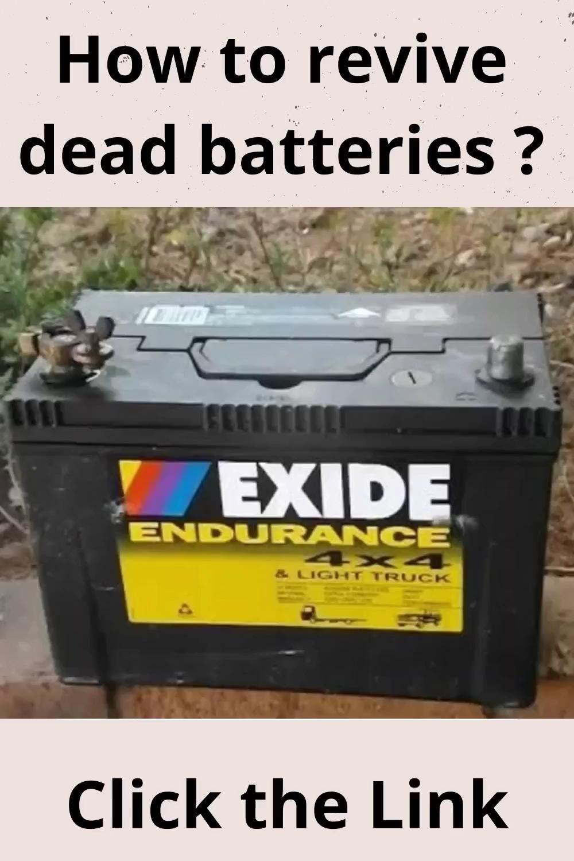 Pin On Lead Acid Battery