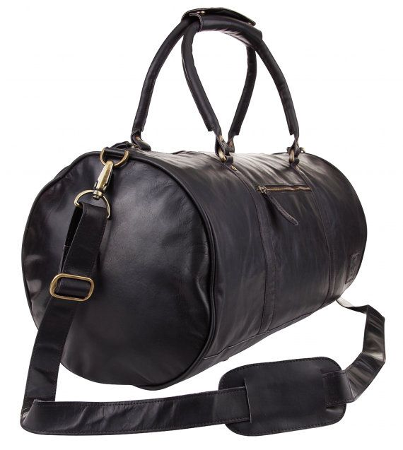 Personalized Leather Duffle Bag - Weekend Bag - Overnight Bag - Gym ... 4e4734bef7c19