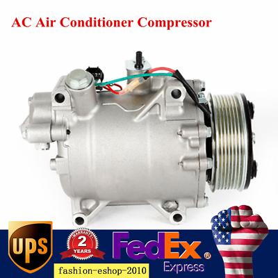 Ac Air Conditioner Compressor Fit For Acura Ilx 2 4l Rdx 2 3l Honda Civic Cr V In 2020 Honda Civic Air Conditioner Compressor Acura Ilx