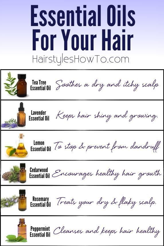 Essential Oils For Your Hair Hair And Beauty Tutorials Hair Care