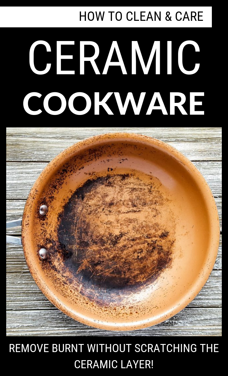 How To Clean And Care Ceramic Cookware Cleaning Ideas