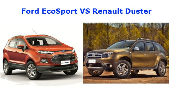 Ecosport Vs Duster Renault Duster Ford Ecosport Renault