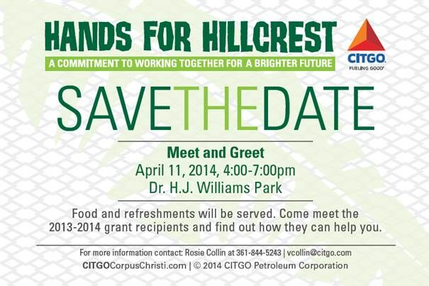 Join us at the Hands for Hillcrest event!