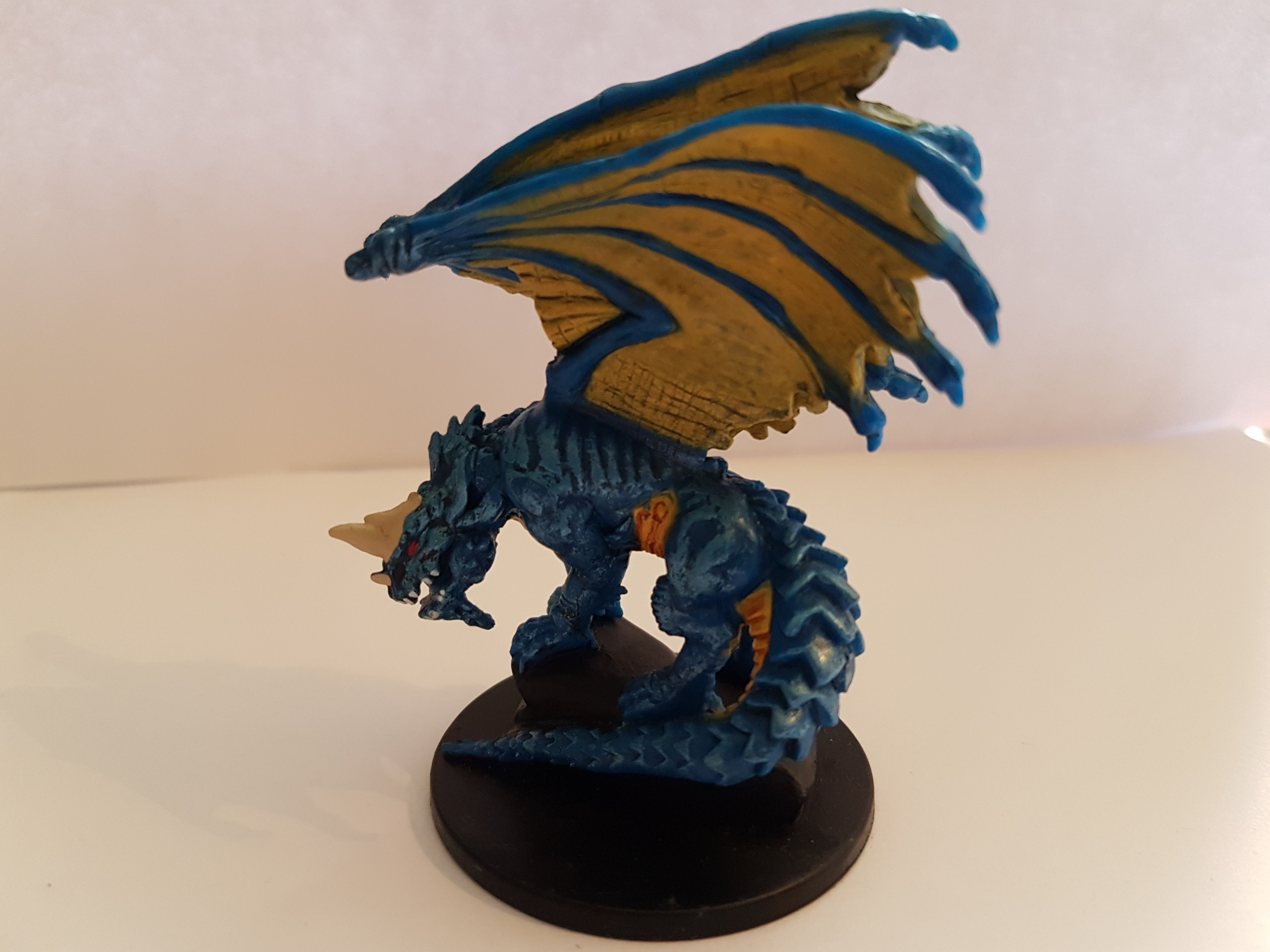 The Mighty Blue Dragon!