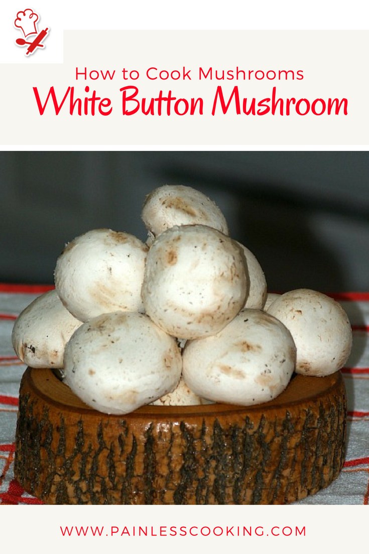 How to cook white mushrooms