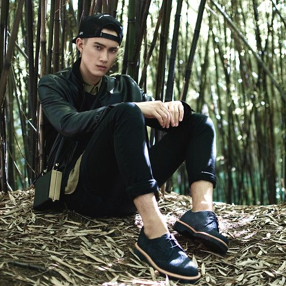 """These reinvented pair of 1461 3-eye Dr. Martens are Nigel Lew's """"empowering stepping stone"""" to discovering himself! Nigel stands for individuality and being able to mix it up socially and culturally! #STANDFORSOMETHING"""