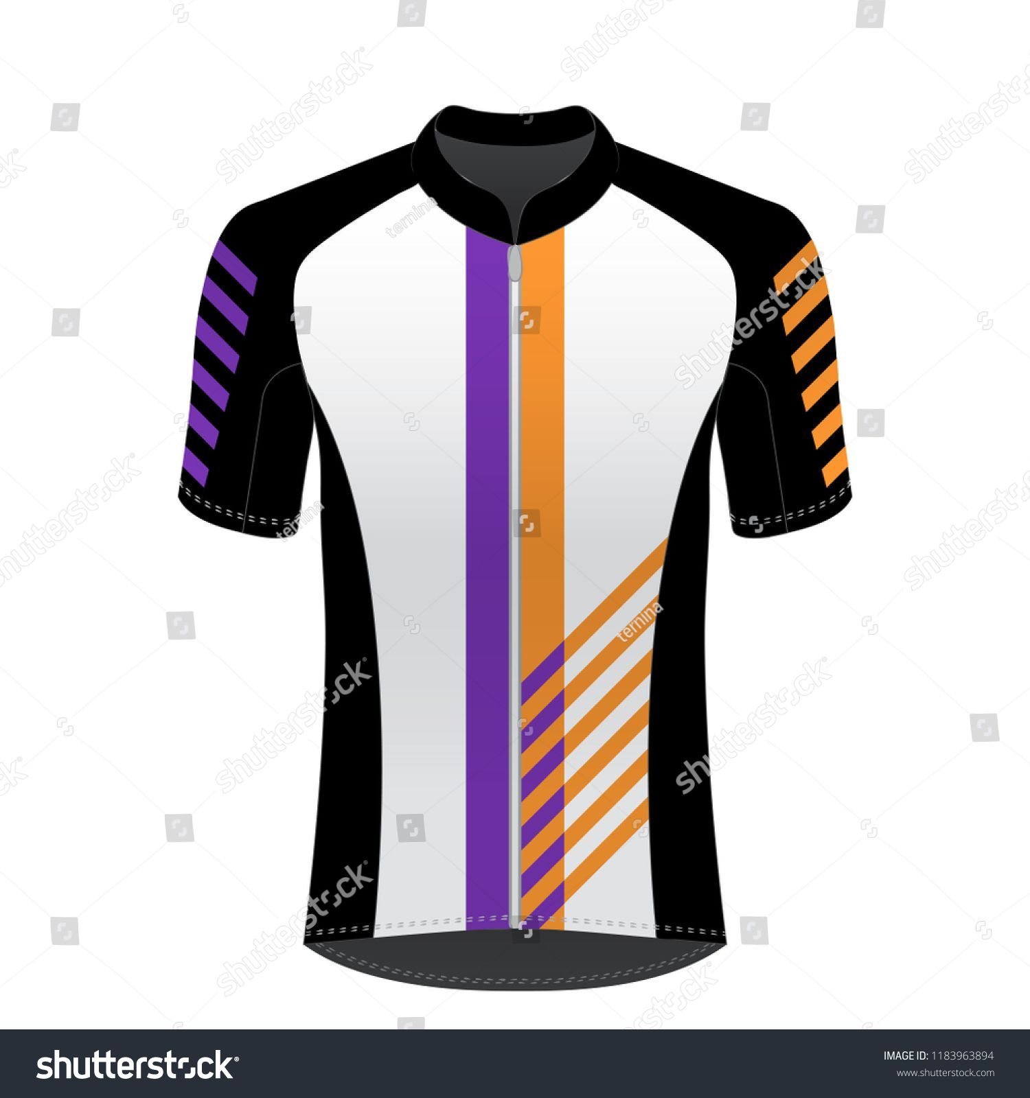 Download The Charming Cycling Jersey Mockup Tshirt Sport Design Stock Vector Throughout Blank Cycling Jersey Template Picture Below Is Segment Of Pejuang