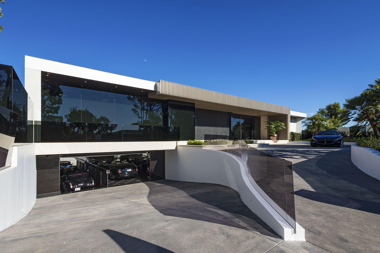 1181 North Hillcrest   Architecture   Beverly hills mansion ...
