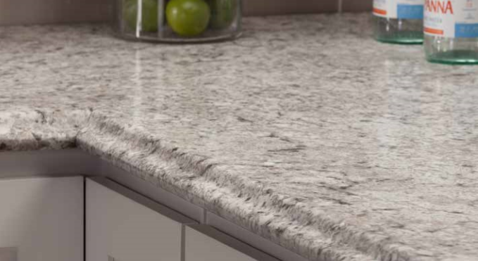 Valencia Edge Profile Full Wrap Ogee Laminate Countertops