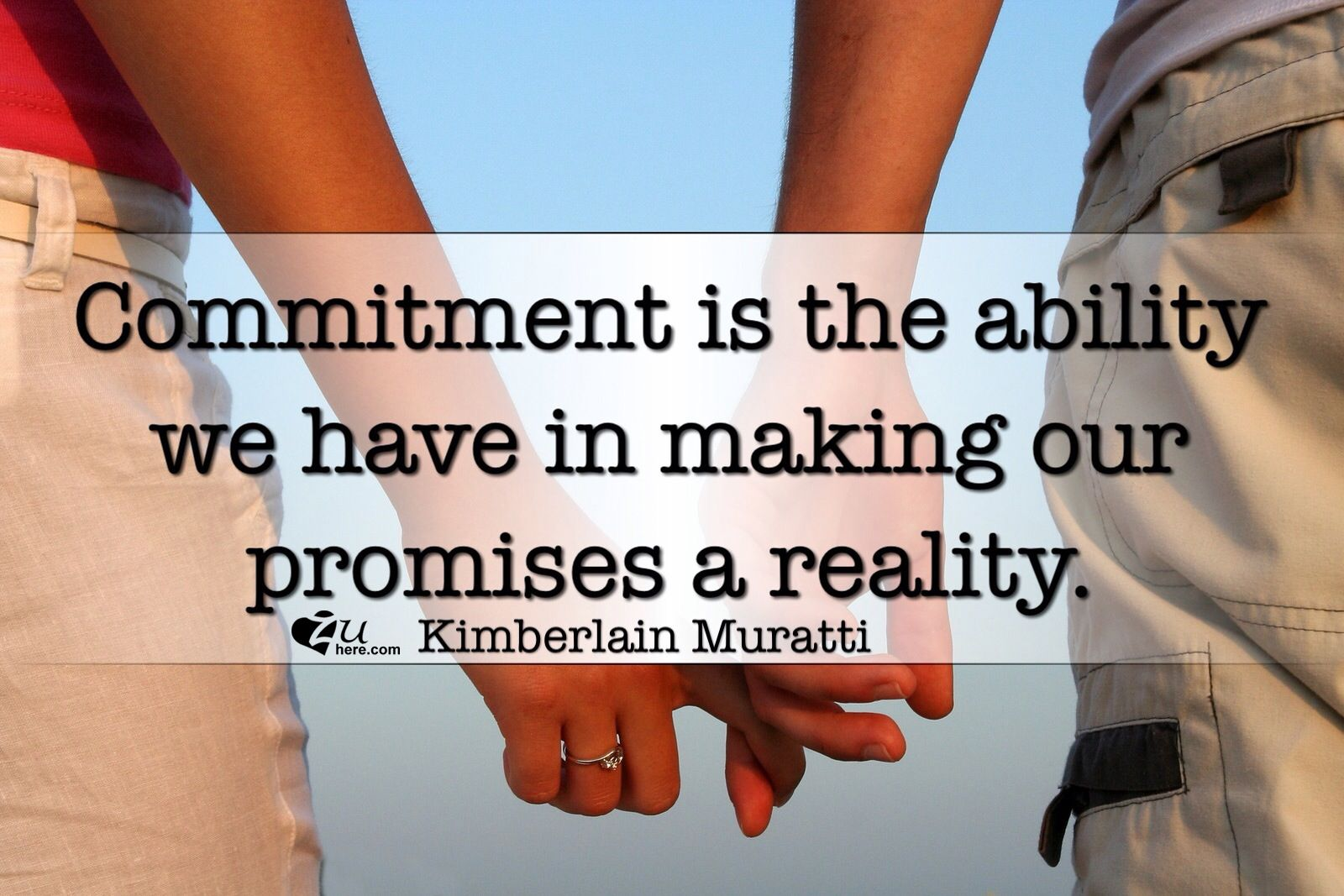 "The Constructive Power of Commitment.    We live in a constant changing world, where seeking for immediate and effortless results makes the word ""commitment"" lose its real value."