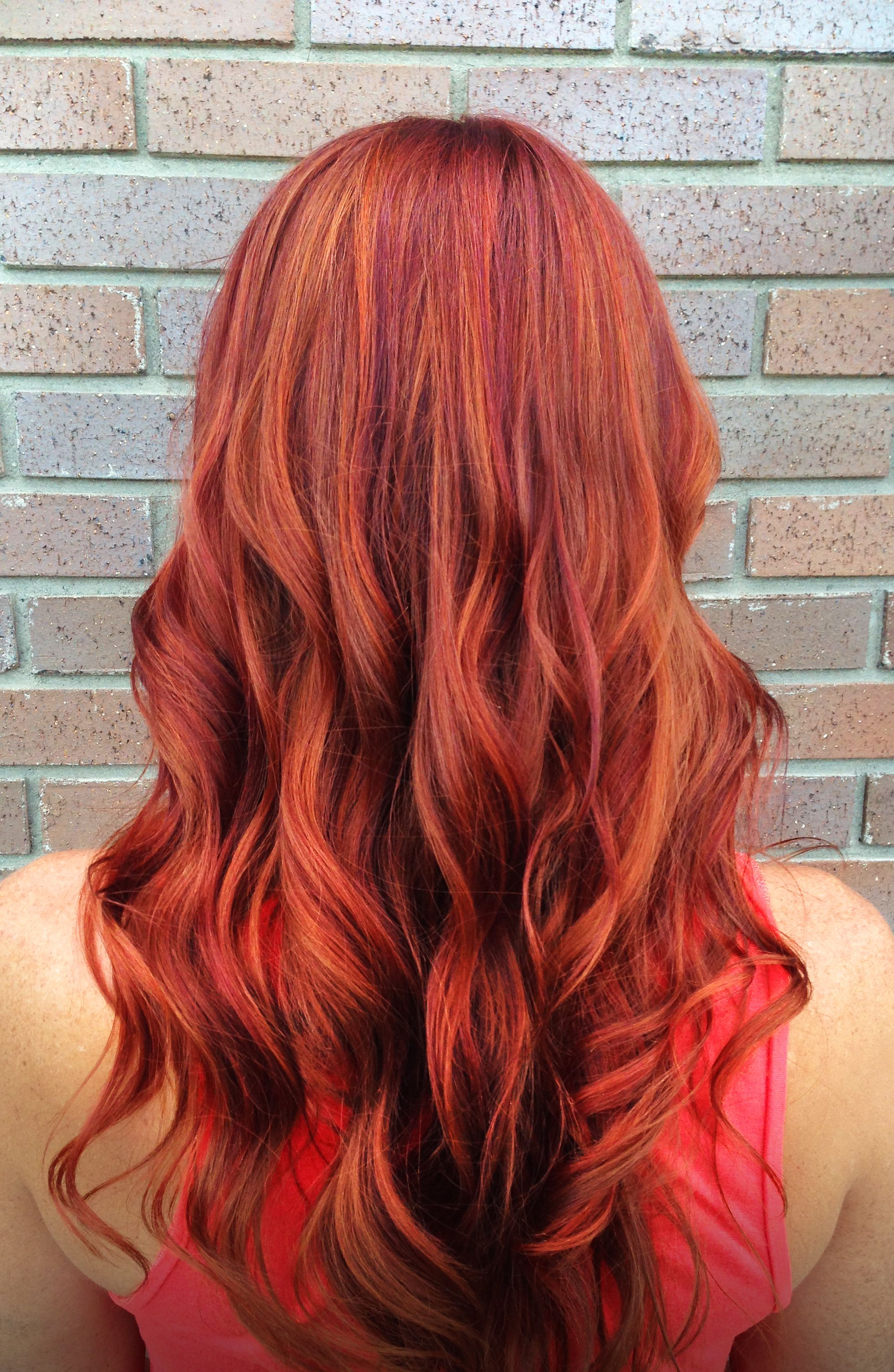 Pravana 7cc Carli Red Orange Hair Color Red Hair