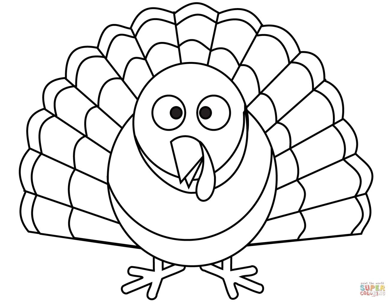 22 Marvelous Picture Of Turkey Coloring Pages Turkey Coloring