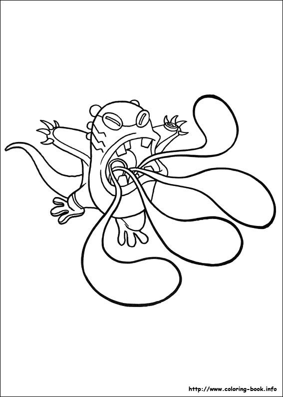 Upchuck Ben 10 Cartoon Coloring Pages Coloring Pages For Kids Coloring Pages