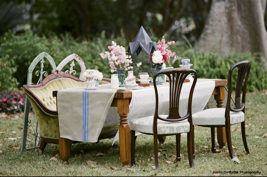 French Garden Vintage by FH Weddings