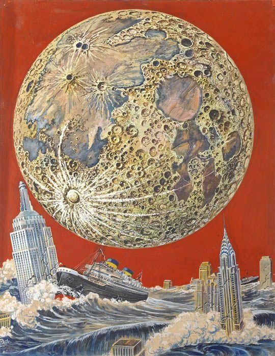 pulp sci fi art | Vintage Sci-Fi Illustrations by Frank Rudolph Paul - mashKULTURE