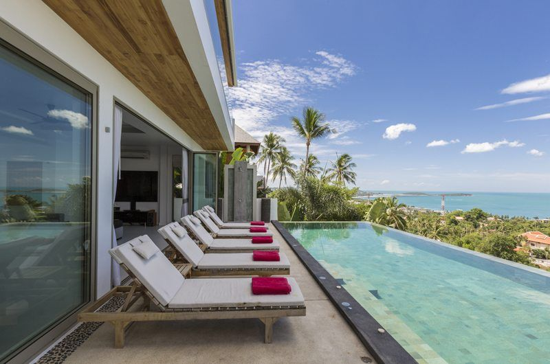 All the ingredients that make it a perfect escape: Villa Jaliza is a private haven perched on a hill amidst coconut groves with stunning ocean views.