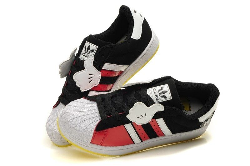 Uomo & Donna Disney x Adidas Originals Superstar II Mickey Mouse Scarpe Online Italia