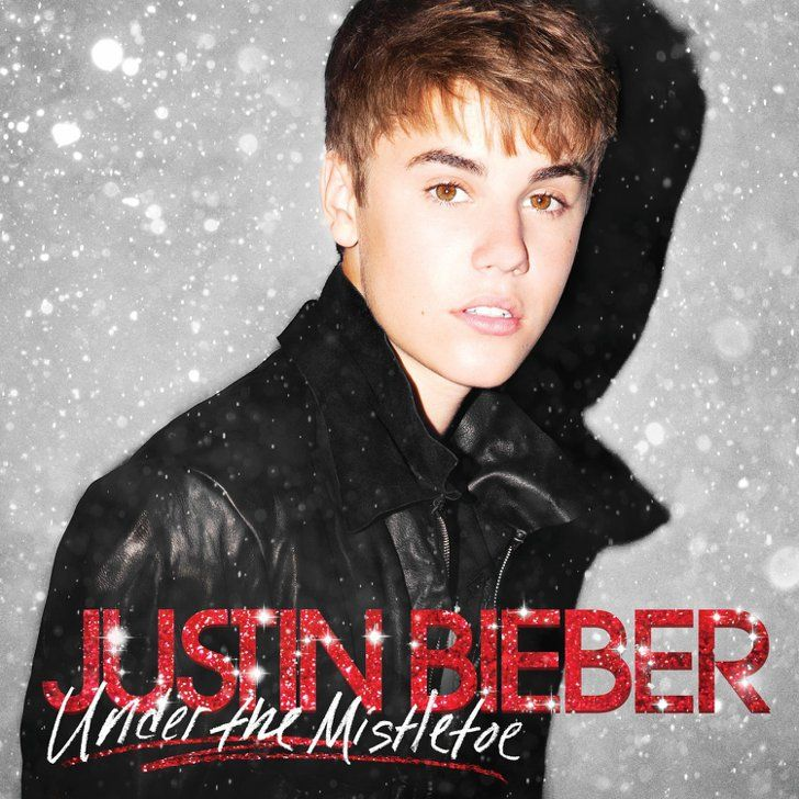 Christmas Album Justin bieber mistletoe, Justin bieber
