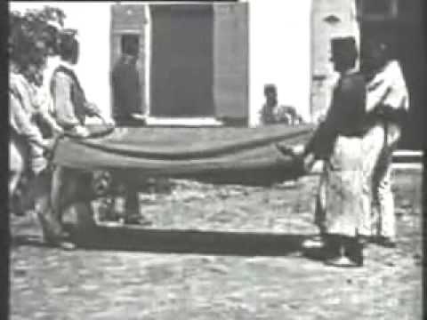 """Le Saut à la couverture (""""Jumping Onto the Blanket""""). 1895"""
