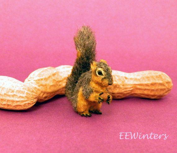 Dollhouse Miniature Squirrel