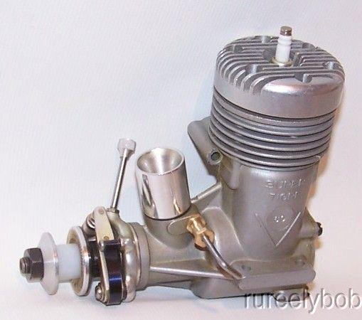 "Airplane Engine Super Tigre ""V"" .60 spark ignition control"