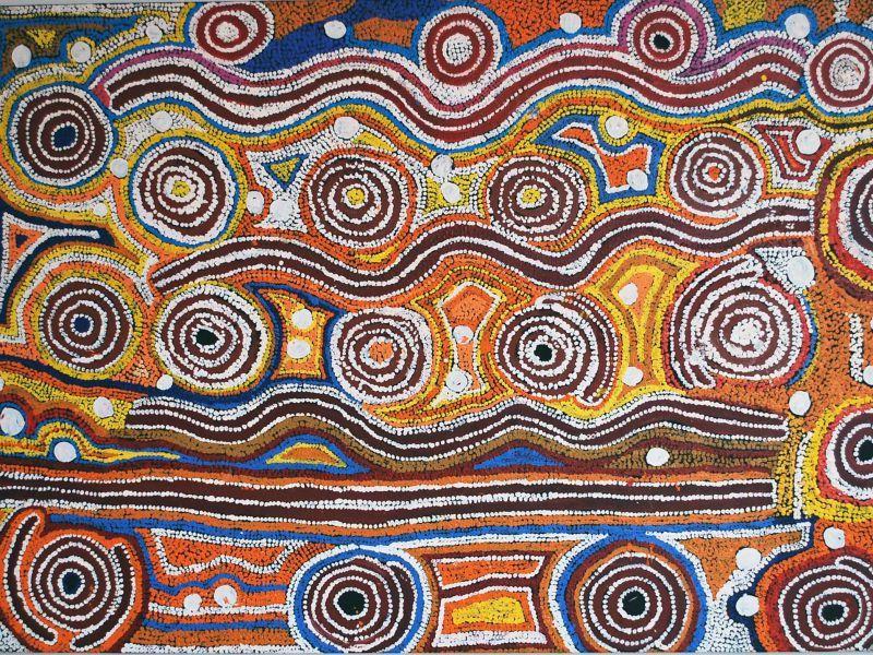 Extrem L'Art Aborigène Pour le défi PADR | Australie | Pinterest | Art  WB03