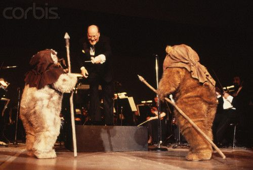 John Williams and Ewoks