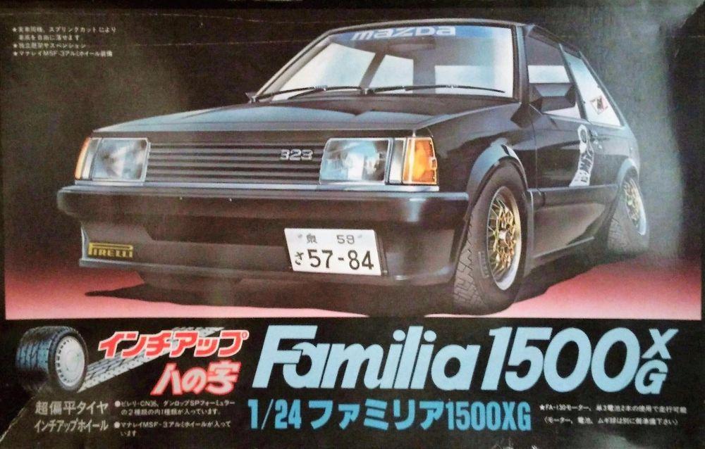 fujimi 1 24 scale mazda 323 familia xg fujimi scale world rh pinterest com Chamberlain Garage Door Opener Manual Pontiac Shop Manual 2007