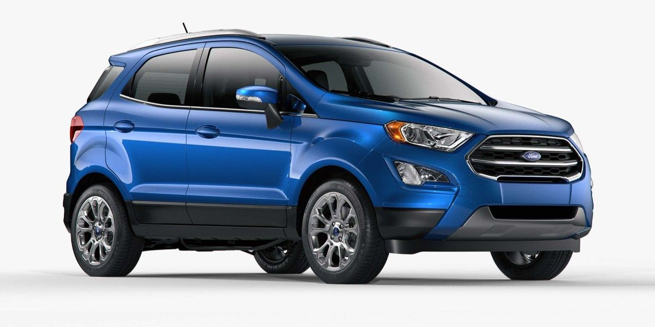 2018 Ford Ecosport Compact Suv Ford Ecosport Sedan Cars Ford News