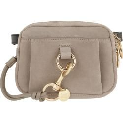 See By Chloé Tony Belt Bag Suede Motty Grey in grau Gürteltasche für Damen Chloé