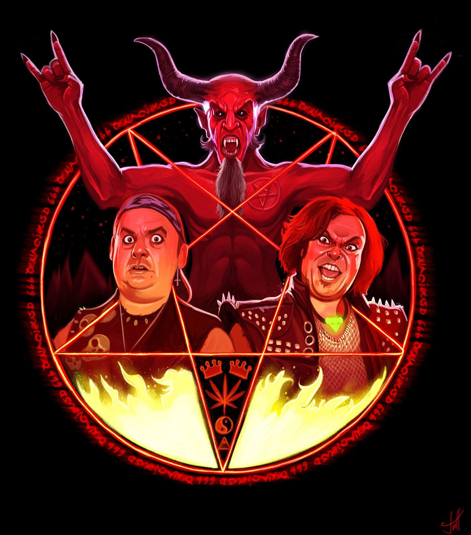 Tenacious D The Pick Of Destiny Fanart By Jeff Delgado Heavy Metal Art Heavy Metal Music Fan Art