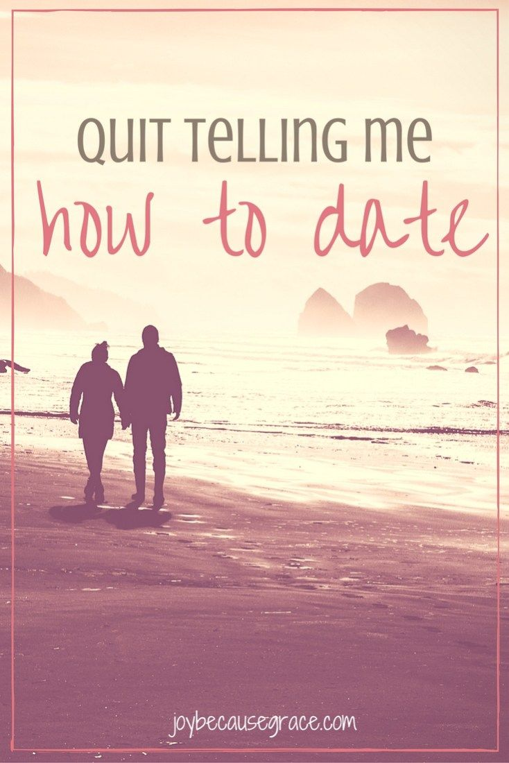 Dating a girl the christian way