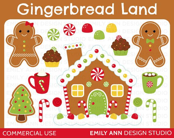 gingerbread house clipart cute gingerbread house clipart