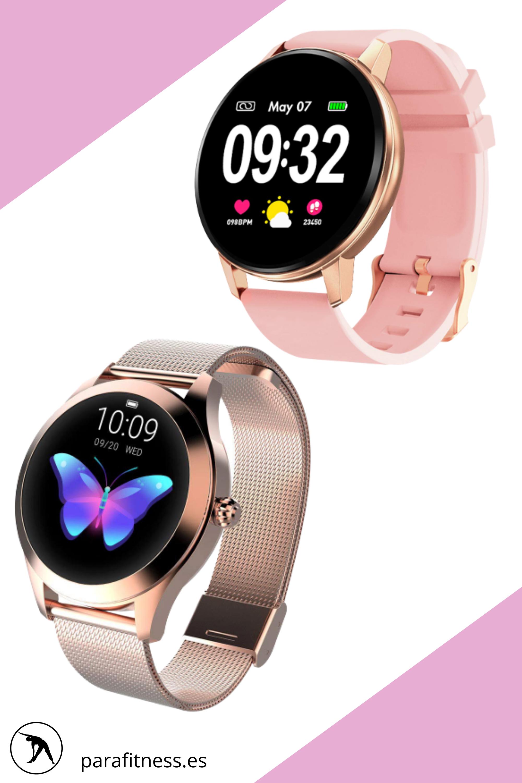 Fitness Trackers Watch Reloj Inteligente De Mujer Para San Valentin En 2020 Reloj Inteligente Relojes Deportivos Fitness