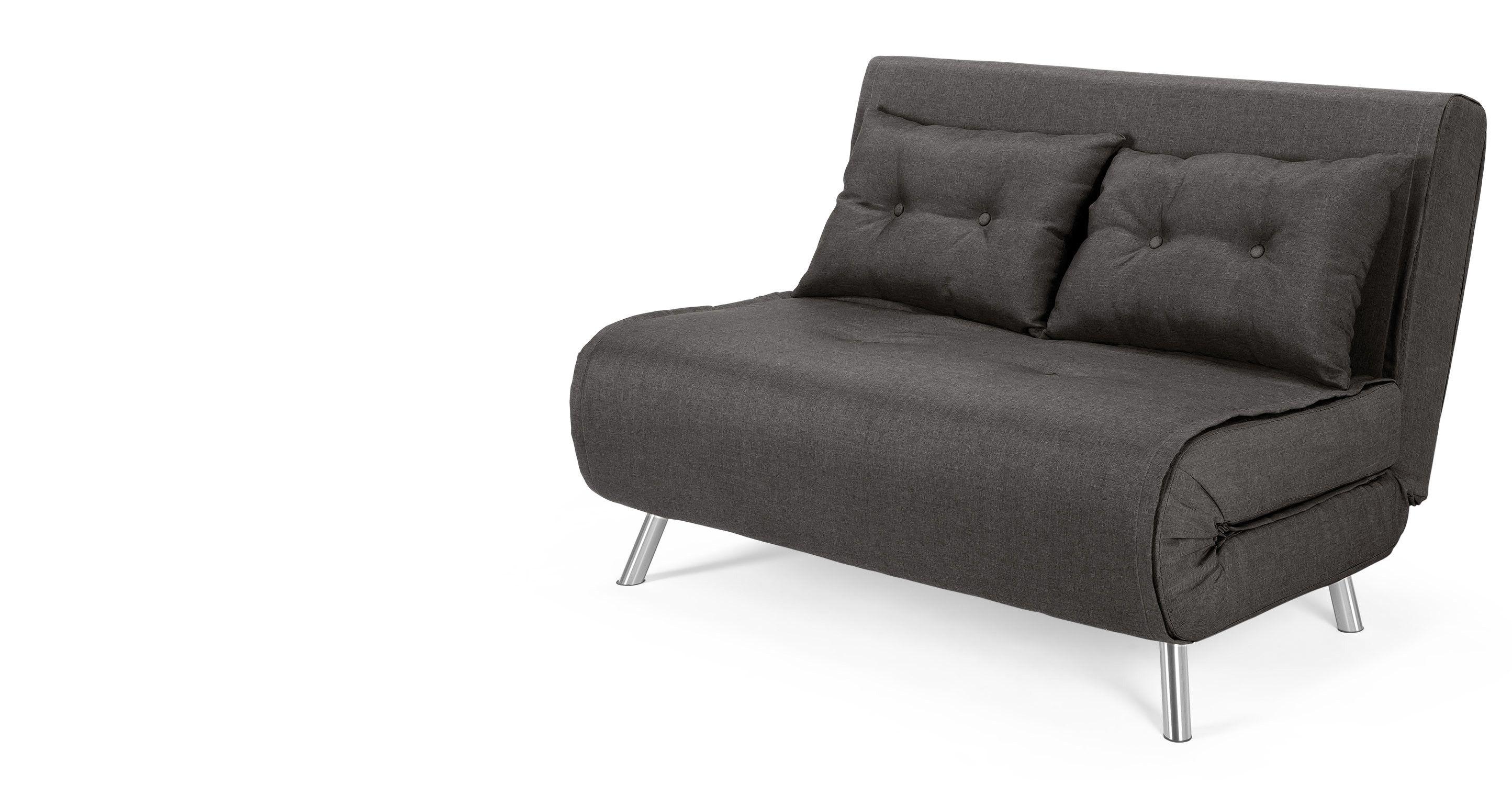 Haru Small Sofa Bed Cygnet Grey Slaapbank Kleine Bank Bed Maten