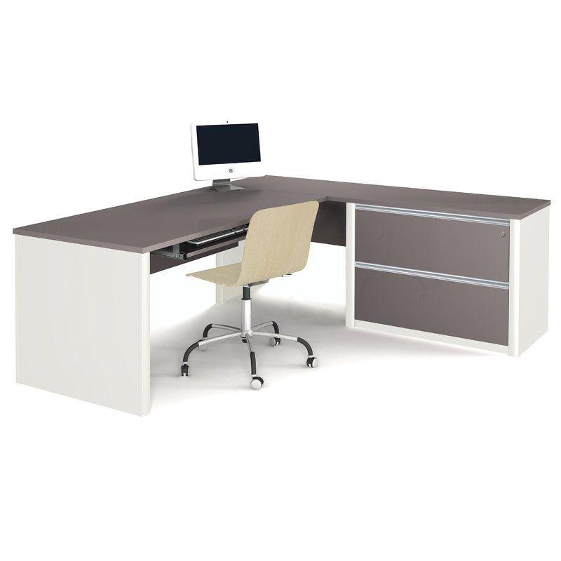 karla pedestal reversible l shape executive desk paradise ideas rh pinterest at