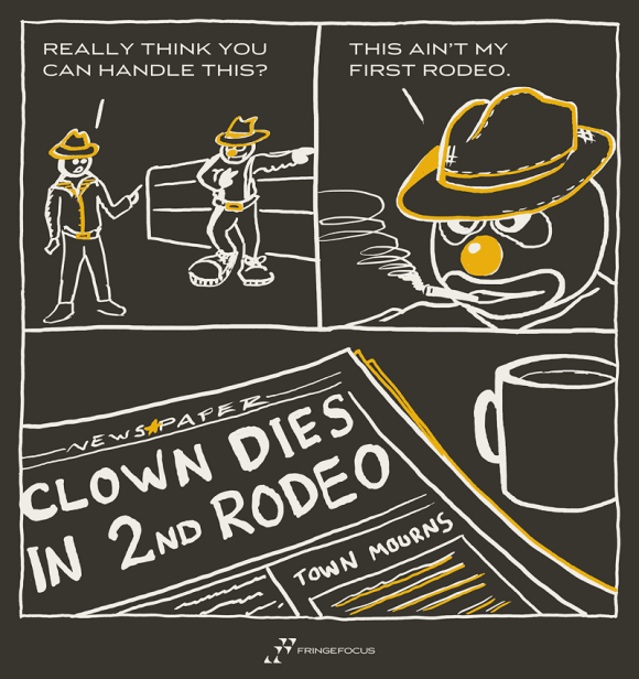 The Rodeo By Fringe Focus Clowns Funny Funny Pictures For Facebook Funny Pictures