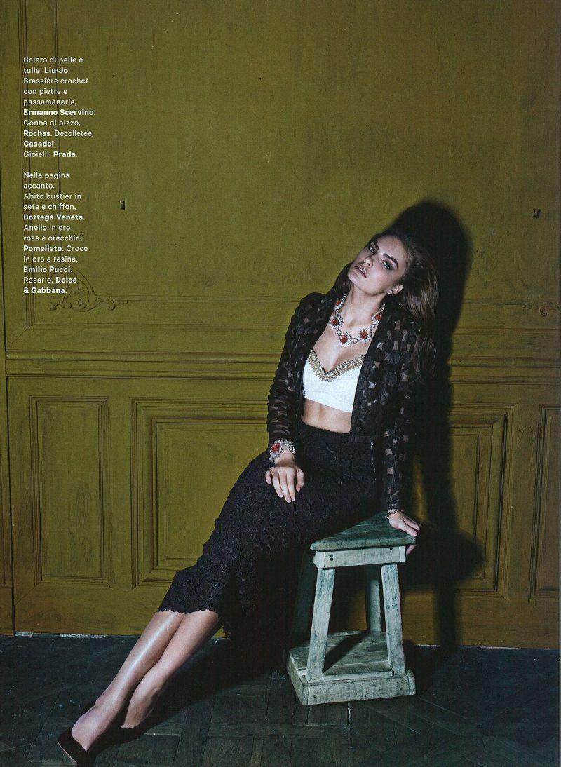 Alyssa Miller Soaks Up The Sun In Stephan Wurth S Vogue Latin America Shoot